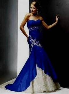 royal blue gowns for wedding
