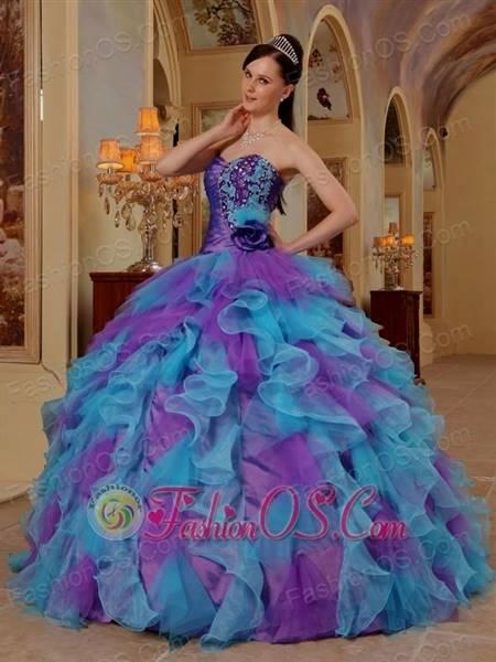 sapphire blue ball gowns