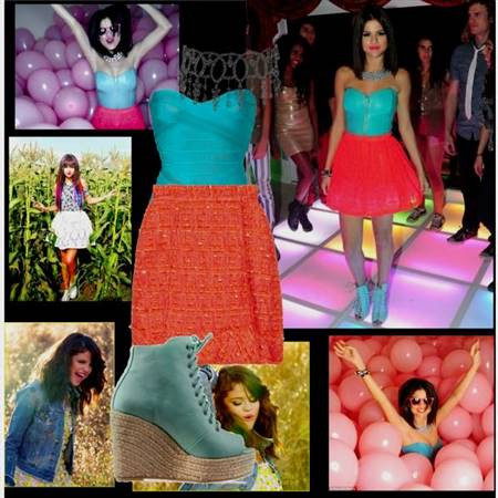 selena gomez dresses in come and get it