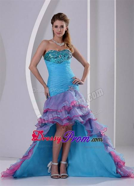 sexy high low prom dresses