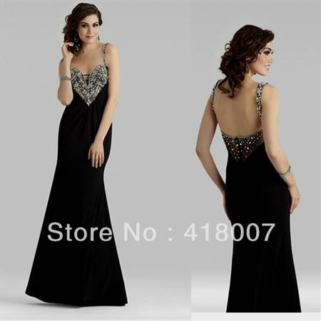 sexy prom dresses open back