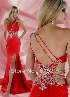 sexy red prom dresses