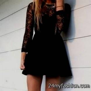 short black lace dress tumblr