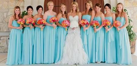 3806a92905 short blue beach bridesmaid dresses   B2B Fashion