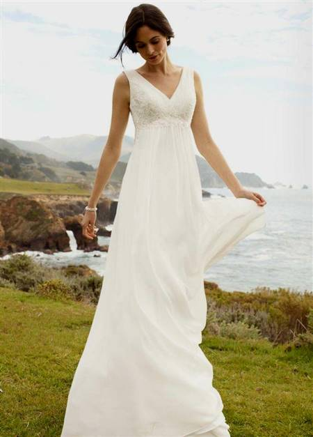 simple beach wedding dresses casual