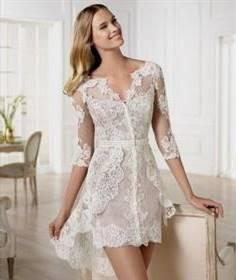 simple civil wedding dress designs