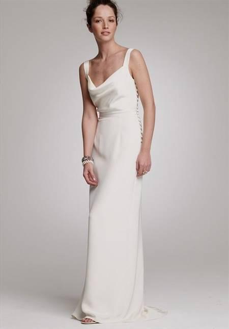 simple elegant wedding dresses second wedding