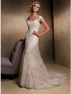 simple elegant wedding dresses with straps