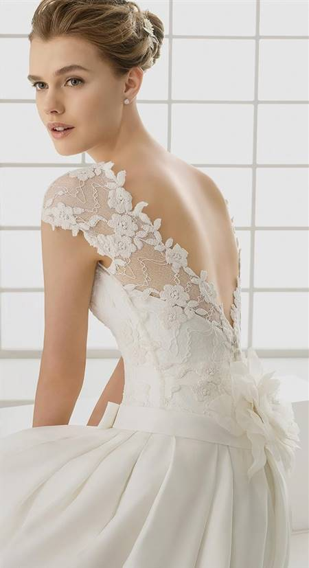 simple elegant wedding dresses with straps