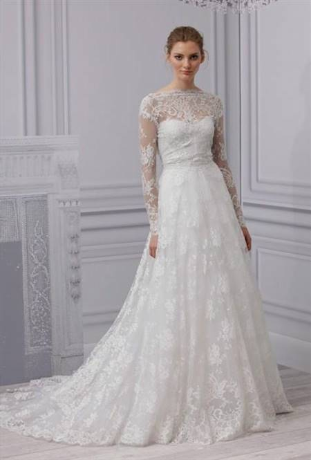 simple lace wedding dresses