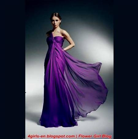 simple purple dresses for teenagers