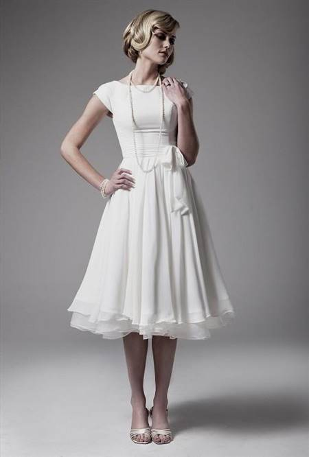 simple white dress for civil wedding for pregnant