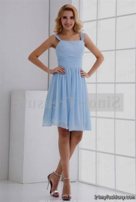 sky blue dresses for women