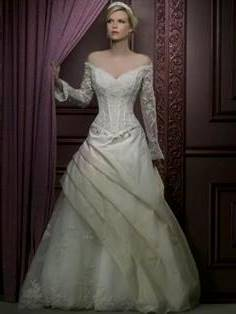 sleeping beauty wedding dress