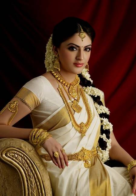 south indian traditional wedding dress