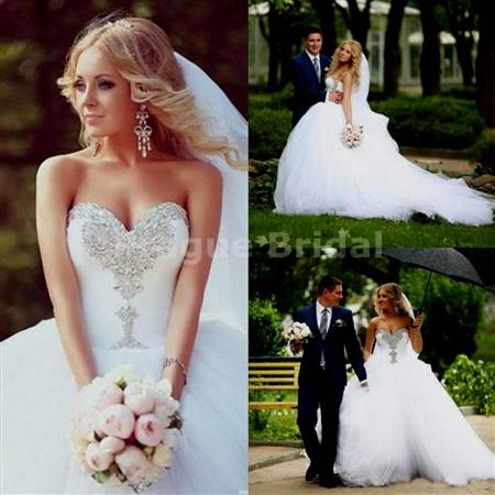 sparkly ball gown wedding dresses