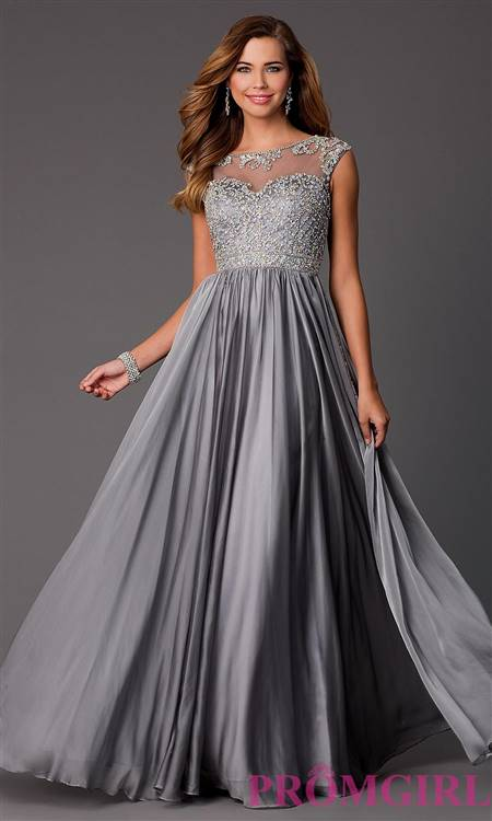 sparkly silver prom dresses