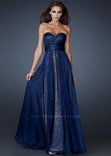 strapless black prom dresses