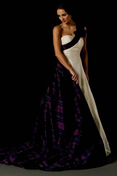 tartan wedding dresses