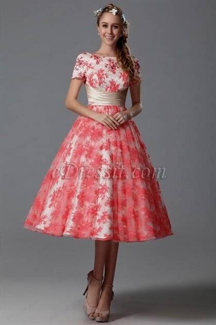 tea length day dresses