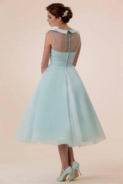 tea length prom dress