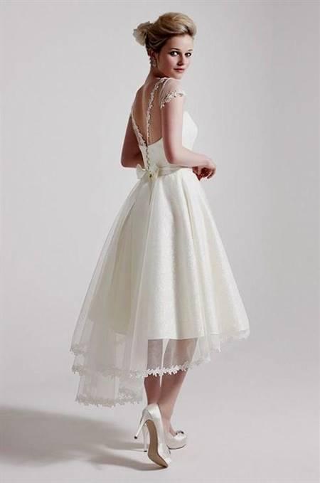 tea length wedding dresses