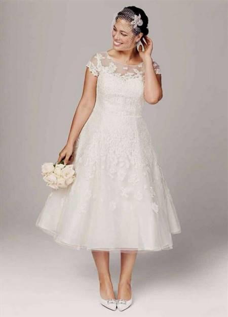 tea length wedding dresses david's bridal