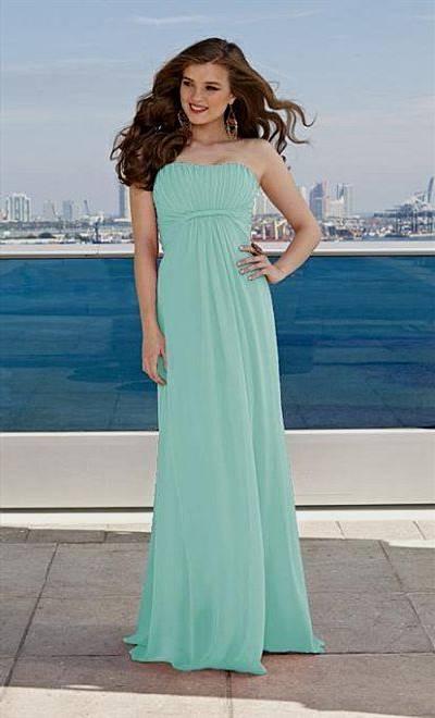 tiffany blue bridesmaid dresses mori lee