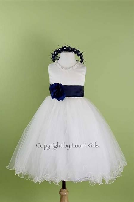 toddler flower girl dresses blue