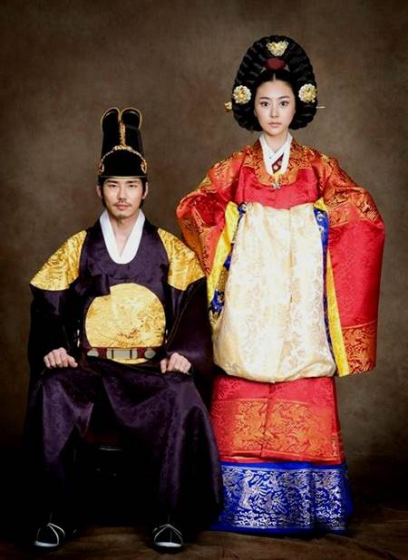 traditional korean wedding dresses
