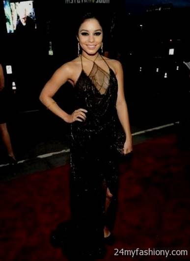 vanessa hudgens red carpet dresses