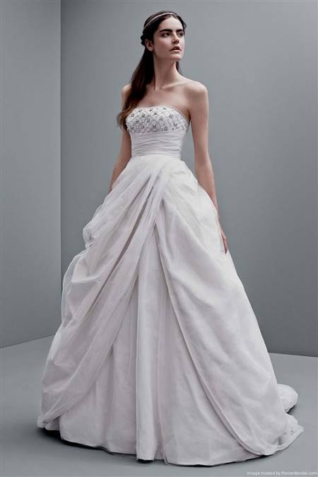 vera wang strapless wedding dresses ball gown