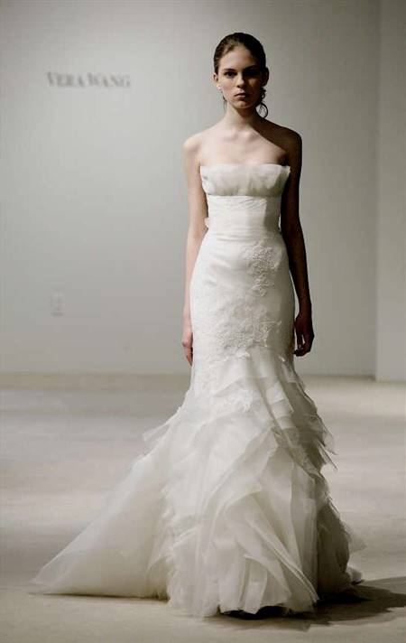 vera wang wedding dresses fishtail | B2B Fashion