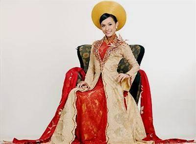 vietnamese traditional wedding dress