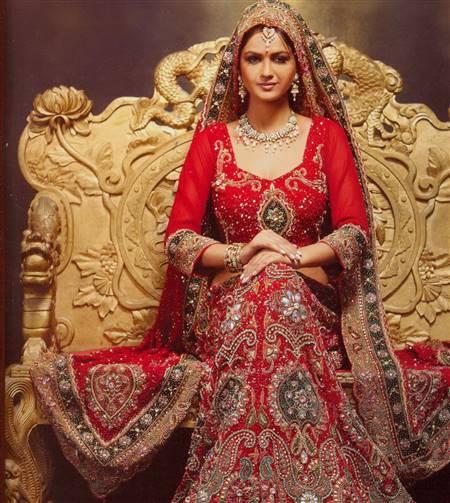 wedding dress for indian muslim bride