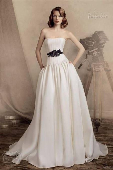 wedding dress with pockets