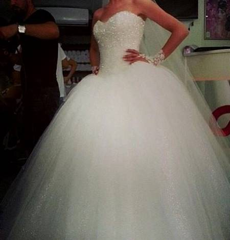wedding dresses ball gown sparkly