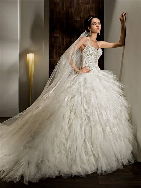 wedding dresses sweetheart neckline ball gown ruffles
