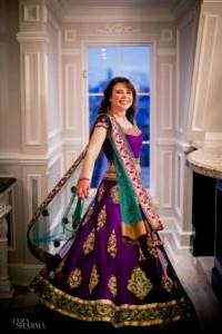 wedding reception dress for bride in indian