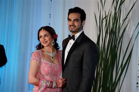 wedding reception dress groom