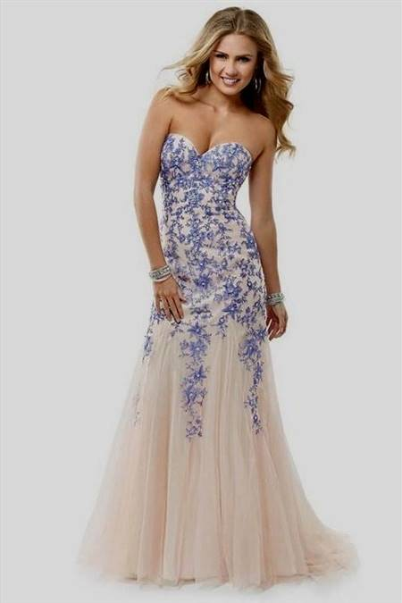white and gold high low prom dresses