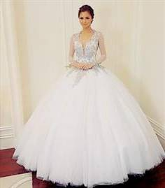 white gown for debut