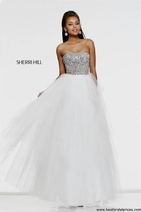 white princess dresses for prom