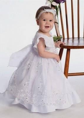 white toddler flower girl dresses