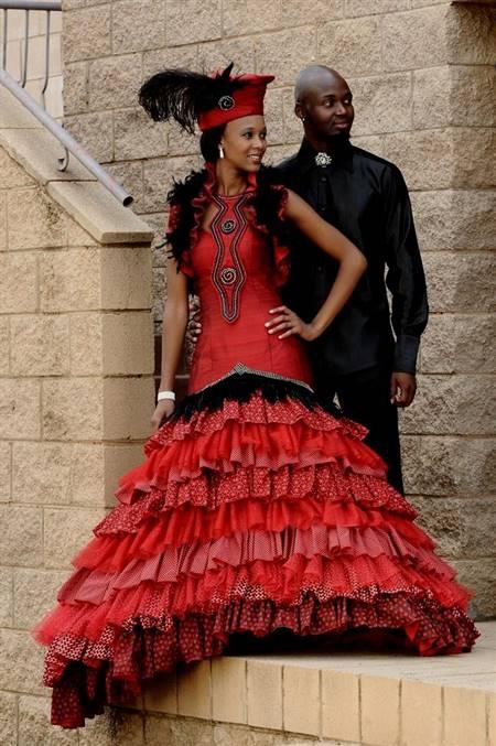 zulu african traditional wedding dress