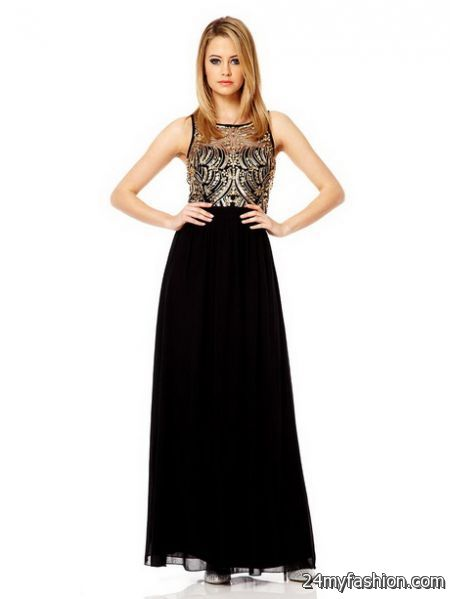 Black and gold maxi dresses review