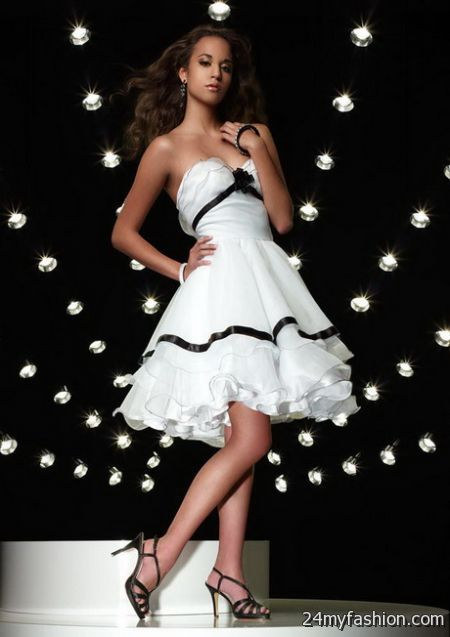 Black and white ball dresses review