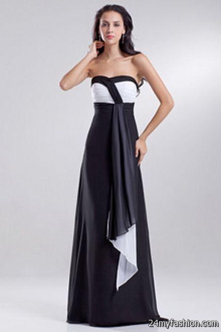 Black evening gowns under 100
