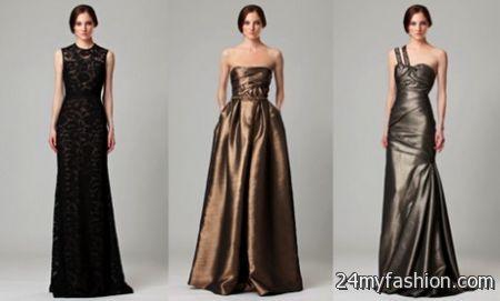 Black tie formal dresses