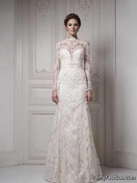 Bridal dress with sleeves review